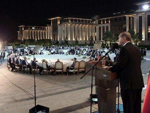 Prof. Dr. Nevzat Tarhan Cumhurbaşkanlığı iftar programına katıldı 2