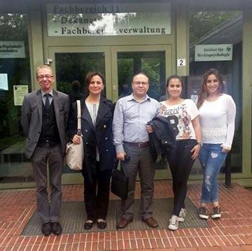 Öğrencilerimiz Adli Psikoloji stajı için Bremen Üniversitesi'nde