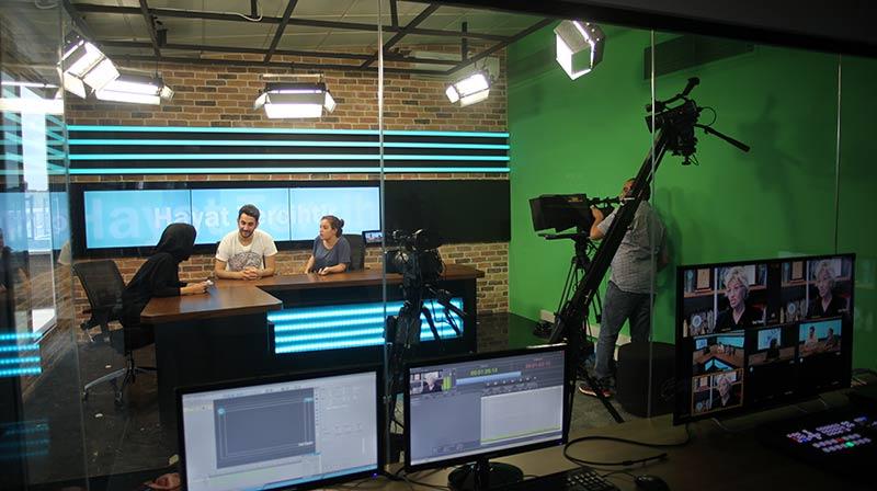 Üsküdarlı İletişimciler Radyo-Tv stüdyolarında uygulama yapacak