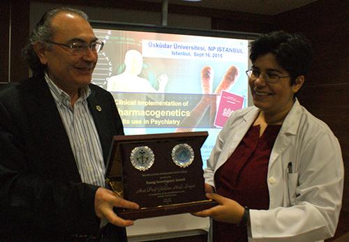 ECNS Genç Araştırmacılar Ödülü Dr. Gökben Hızlı Sayar'a verildi.